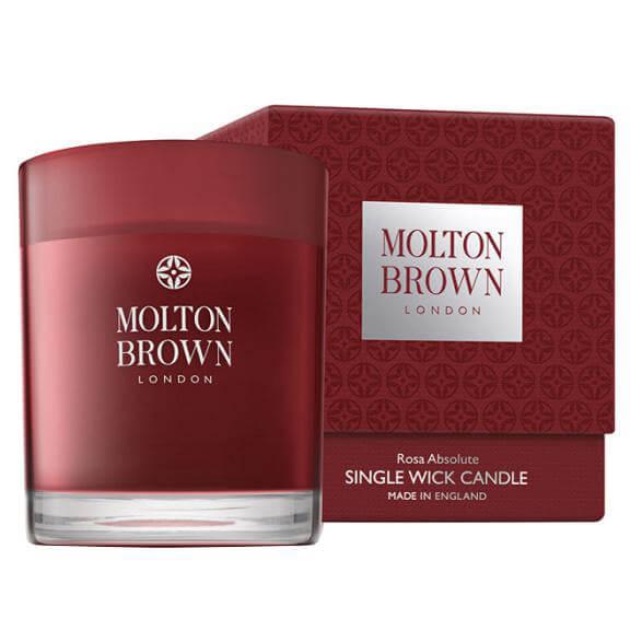 Molton Brown Rosa Absolute Single Wick Candle ryhmässä Vartalonhoito & spa / Koti & Spa / Tuoksukynttilät at Bangerhead.fi (B024635)
