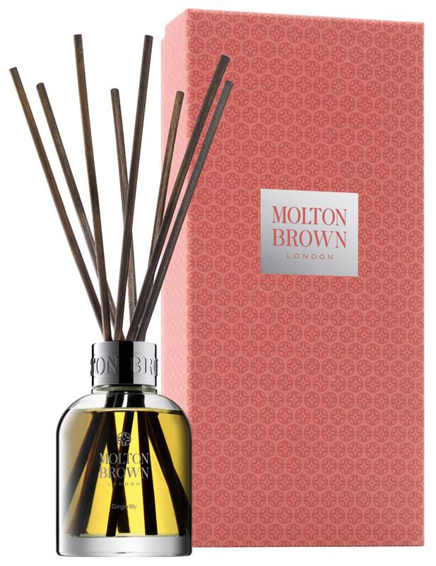 Molton Brown Gingerlily Aroma Reeds (645g) ryhmässä Vartalonhoito & spa / Koti & Spa / Tuoksutikut at Bangerhead.fi (B024640)
