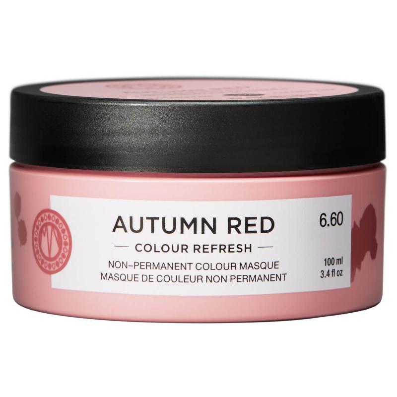 Maria Nila Colour Refresh Autumn Red (100ml) i gruppen Hårvård / Hårfärg / Färginpackning hos Bangerhead (B024688)
