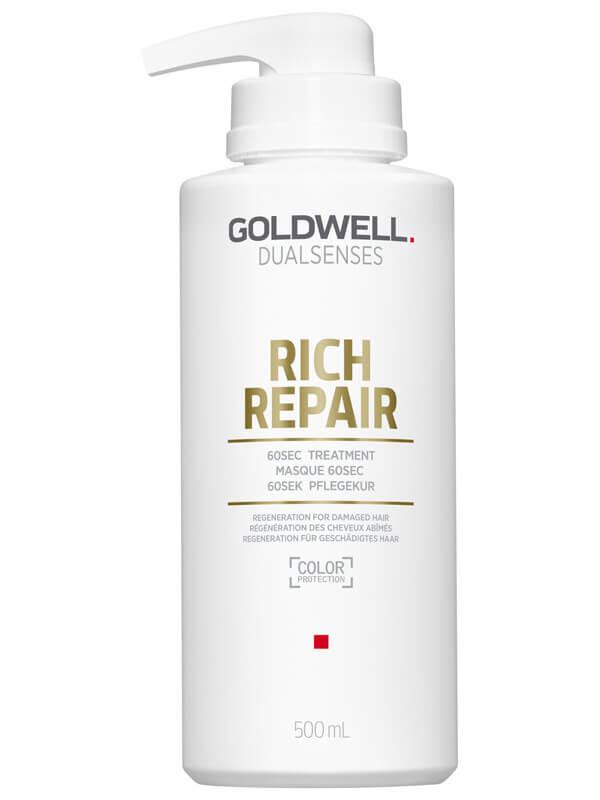 Goldwell Dualsenses Rich Repair 60 sec Treatment ryhmässä Hiustenhoito / Hiusnaamiot ja hoitotuotteet / Naamiot at Bangerhead.fi (B027756r)