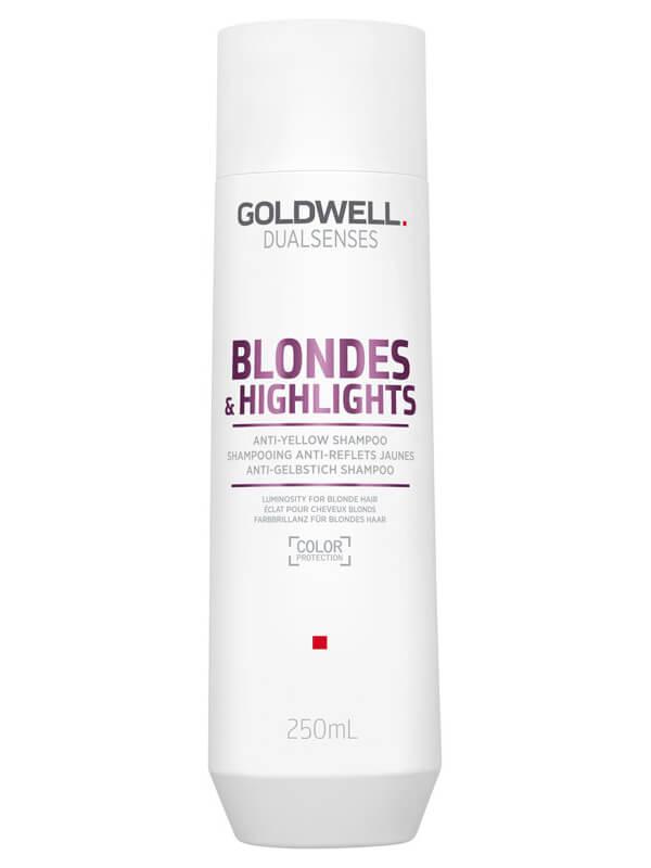 Goldwell Dualsenses Blondes & Highlights Anti-Yellow Shampoo ryhmässä Hiustenhoito / Shampoot & hoitoaineet / Shampoot at Bangerhead.fi (B024881r)