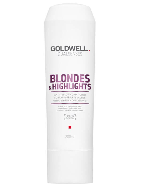 Goldwell Dualsenses Blondes & Highlights Anti-Yellow Conditioner ryhmässä Hiustenhoito / Shampoot & hoitoaineet / Hoitoaineet at Bangerhead.fi (B024882r)