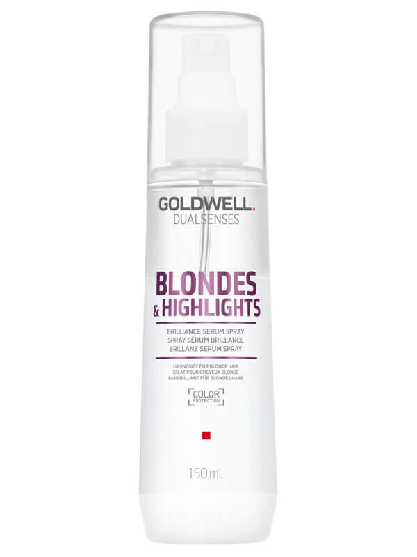 Goldwell Dualsenses Blondes & Highlights Serum Spray (150ml) i gruppen Hårvård / Styling / Värmeskydd hos Bangerhead (B024884)