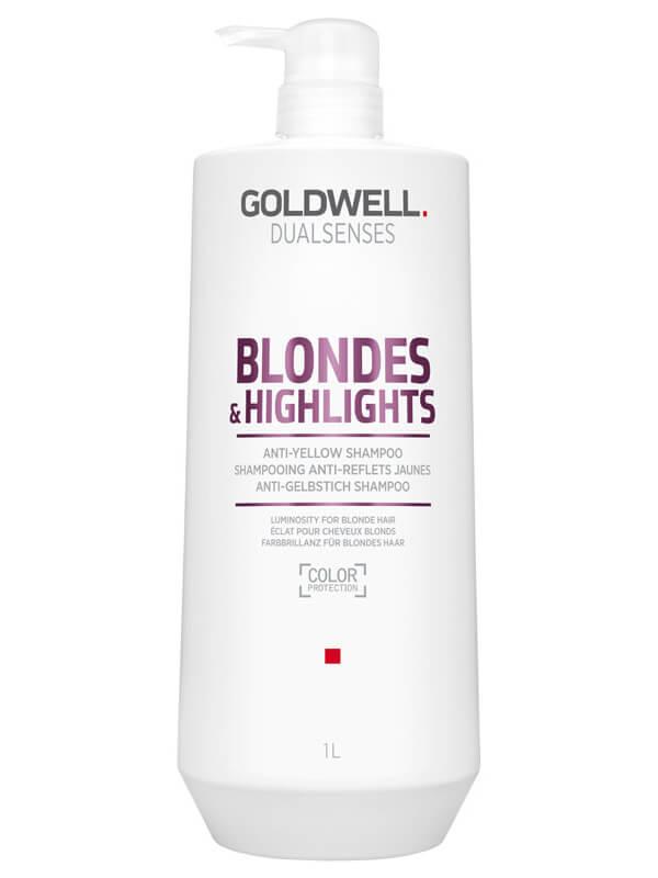 Goldwell Dualsenses Blondes & Highlights Anti-Yellow Shampoo ryhmässä Hiustenhoito / Shampoot / Shampoot at Bangerhead.fi (B024881r)