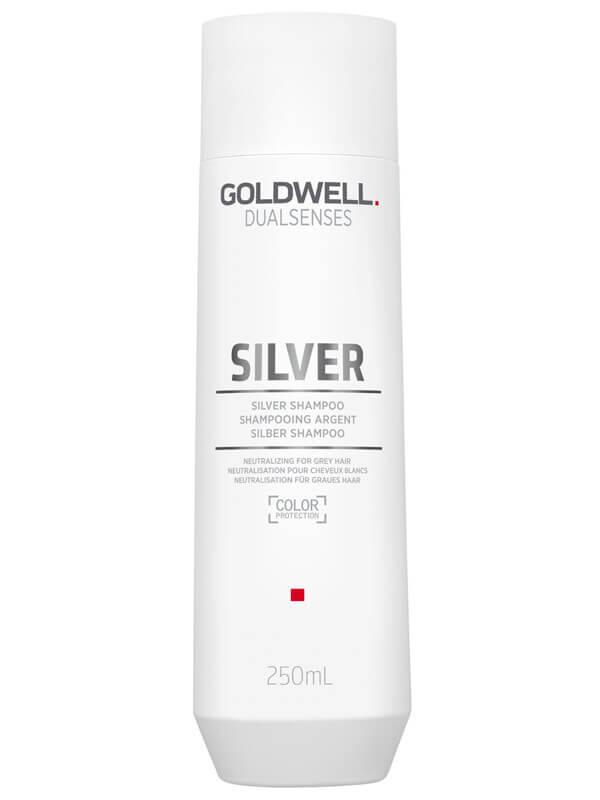 Goldwell Dualsenses Silver Shampoo (250ml) ryhmässä Hiustenhoito / Shampoot & hoitoaineet / Hopeashampoot at Bangerhead.fi (B024889)