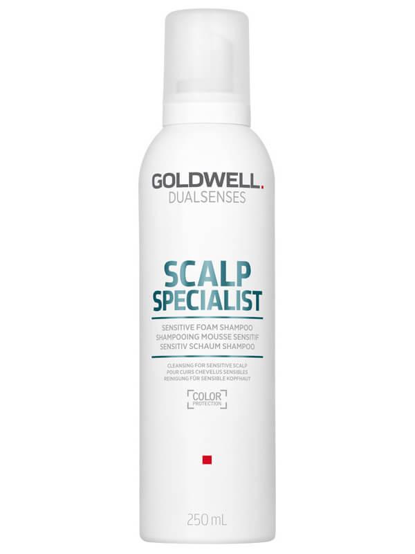 Goldwell Dualsenses Scalp Specialist Sensitive Foam Shampoo (250ml) ryhmässä Hiustenhoito / Shampoot & hoitoaineet / Shampoot at Bangerhead.fi (B024904)