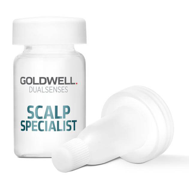 Goldwell Dualsenses Scalp Specialist Anti-Hairloss Serum (8X6ml) ryhmässä Hiustenhoito / Hiusnaamiot ja hoitotuotteet / Hiustenlähdön ehkäisy at Bangerhead.fi (B024909)