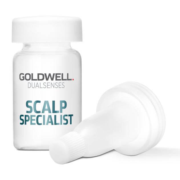 Goldwell Dualsenses Scalp Specialist Anti-Hairloss Serum (8X6ml) ryhmässä Hiustenhoito / Hiusnaamiot ja hoitotuotteet / Hiustenlähdön ehkäisy at Bangerhead.fi (B024909)
