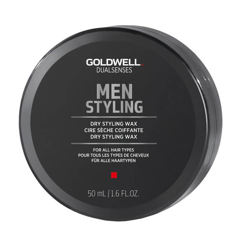 Goldwell Dualsenses Men Dry Styling Wax (50ml) ryhmässä Hiustenhoito / Muotoilutuotteet / Hiusvahat & muotoiluvoiteet at Bangerhead.fi (B024916)
