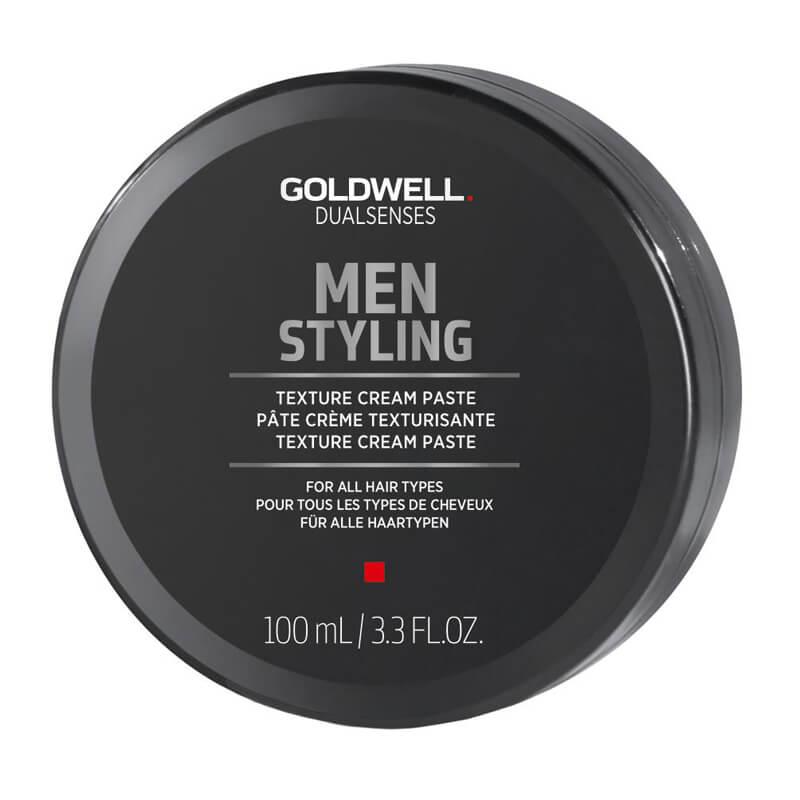 Goldwell Dualsenses Men Texture Cream Paste (100ml) ryhmässä Hiustenhoito / Muotoilutuotteet / Hiusvahat & muotoiluvoiteet at Bangerhead.fi (B024917)