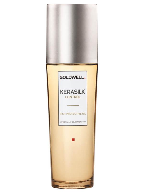 Goldwell Kerasilk Control Rich Protective Oil (75ml) i gruppen Hårvård / Styling / Hårolja hos Bangerhead (B024934)