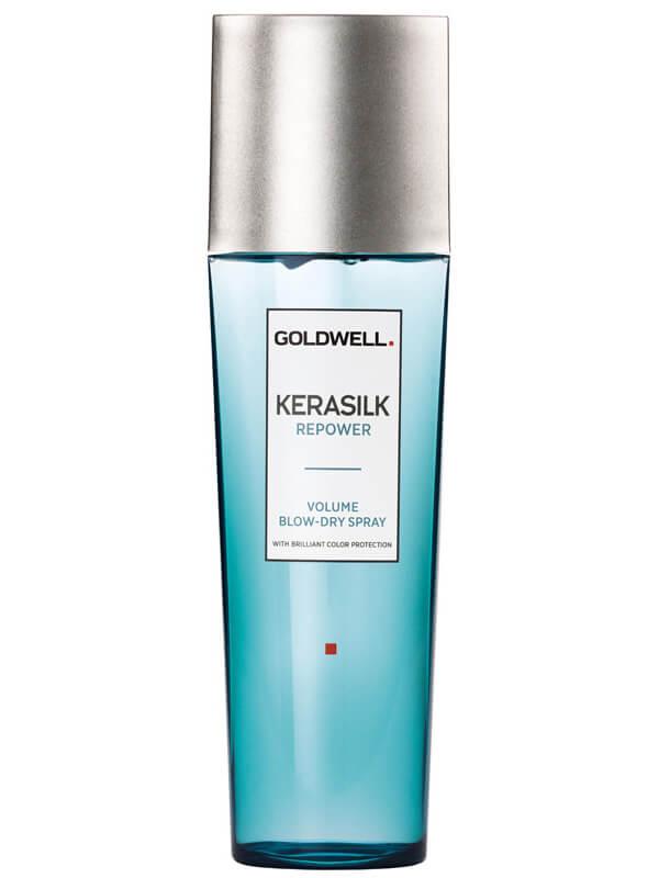 Goldwell Kerasilk Repower Volume Blow-Dry Spray (125ml) i gruppen Hårvård / Styling / Värmeskydd hos Bangerhead (B024946)