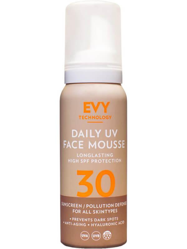EVY Daily UV Face Mousse SPF30 (75ml) i gruppen Hudvård / Sol & tan för ansikte / Solskydd för ansikte hos Bangerhead (B024988)