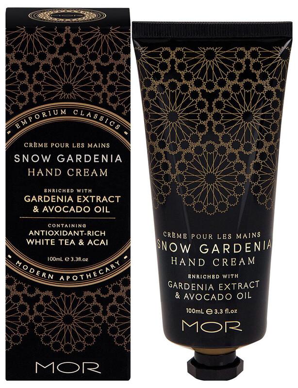 Mor Emporium Classics Hand Cream (100ml) Snow Gardenia ryhmässä Vartalonhoito & spa / Kädet & jalat / Käsivoiteet at Bangerhead.fi (B025011)