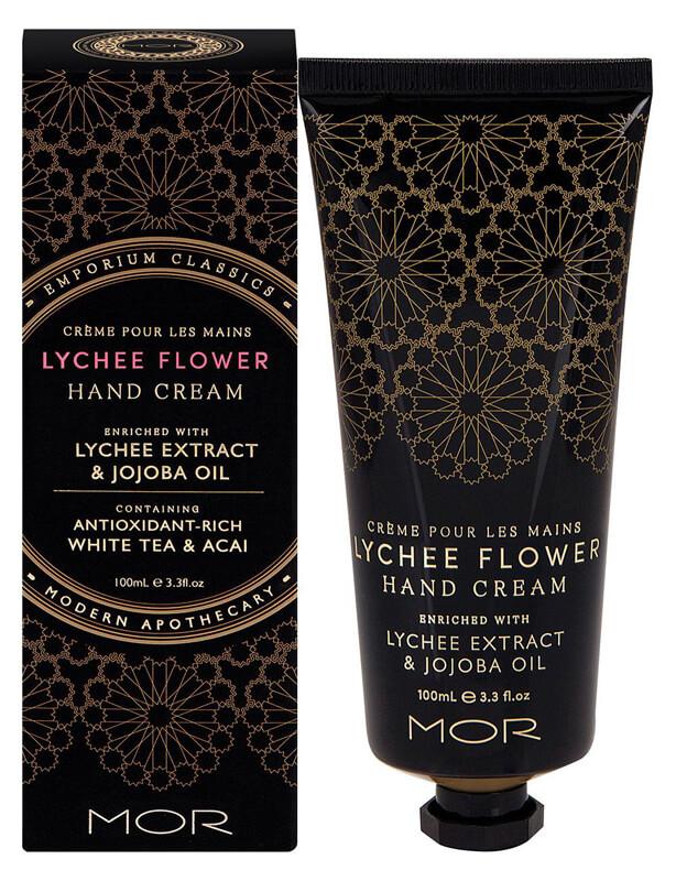 Mor Emporium Classics Hand Cream (100ml) Lychee Flower ryhmässä Vartalonhoito & spa / Kädet & jalat / Käsivoiteet at Bangerhead.fi (B025013)