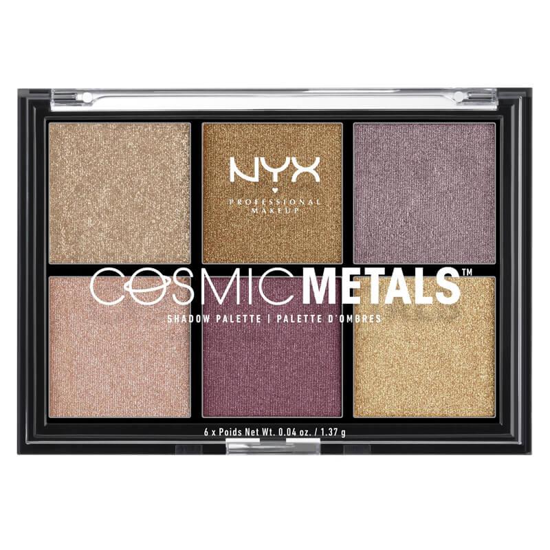 NYX Professional Makeup Cosmic Metal Shadow Palette ryhmässä Meikit / Silmät / Luomiväripaletit at Bangerhead.fi (B025059)