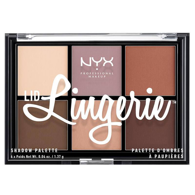 NYX Professional Makeup Lingerie Shadow Palette i gruppen Smink / Ögon / Ögonskuggspalett hos Bangerhead (B025144)