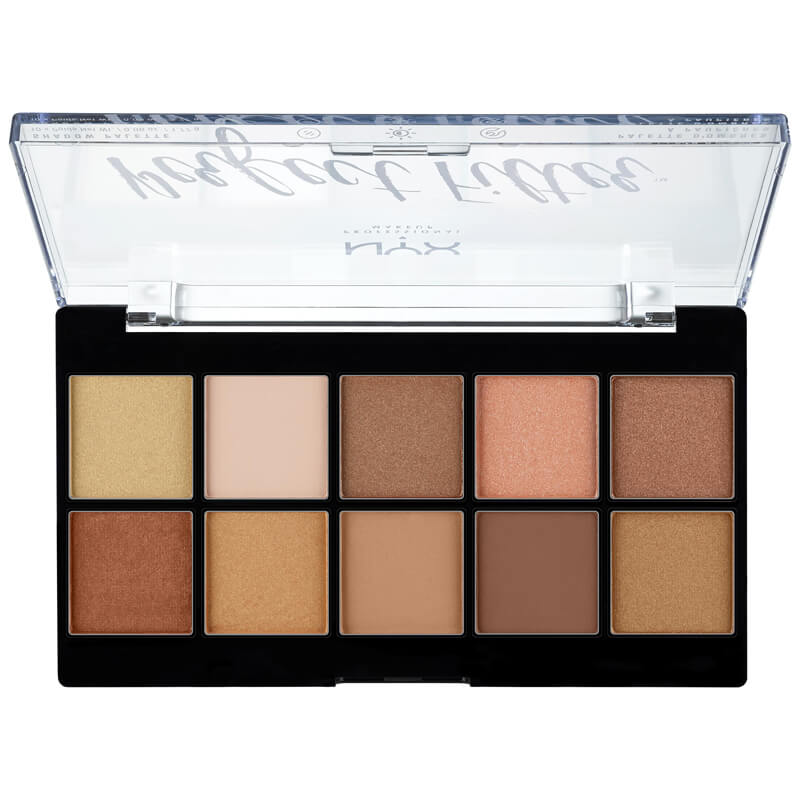 NYX Professional Makeup Prefect Filter Shadow Palette Golden Hour ryhmässä Meikit / Silmät / Luomiväripaletit at Bangerhead.fi (B025145)