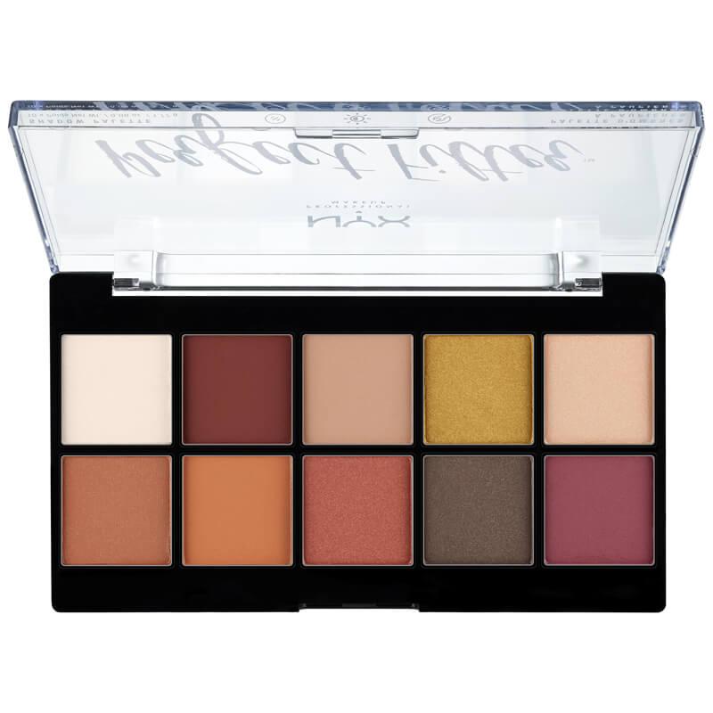 NYX Professional Makeup Prefect Filter Shadow Palette Rustic Antiqu ryhmässä Meikit / Silmät / Luomiväripaletit at Bangerhead.fi (B025146)