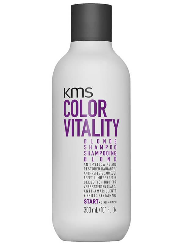 KMS Colorvitality Blonde Shampoo ryhmässä Hiustenhoito / Shampoot / Shampoot at Bangerhead.fi (B025380r)