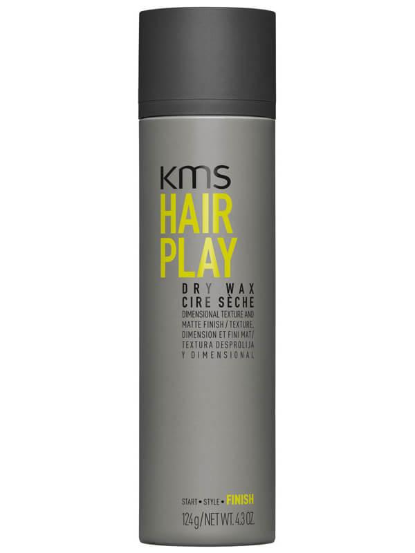 KMS Hairplay Dry Wax Voc >55% (150ml) ryhmässä Hiustenhoito / Muotoilutuotteet / Hiusvahat & muotoiluvoiteet at Bangerhead.fi (B025402)