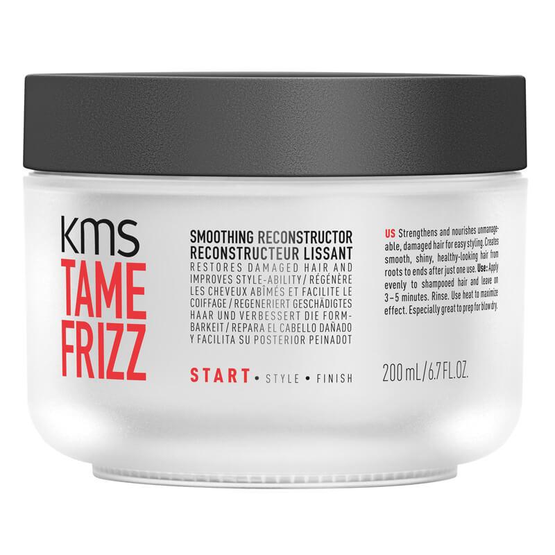 KMS Tamefrizz Smooting Reconstructor (200ml) ryhmässä Hiustenhoito / Hiusnaamiot ja hoitotuotteet / Hoitotiivisteet at Bangerhead.fi (B025418)
