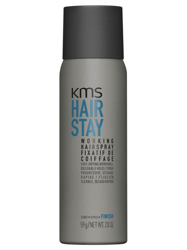 KMS Hairstay Working Spray Voc >55% ryhmässä Hiustenhoito / Shampoot & hoitoaineet / Kuivashampoot at Bangerhead.fi (B025422r)