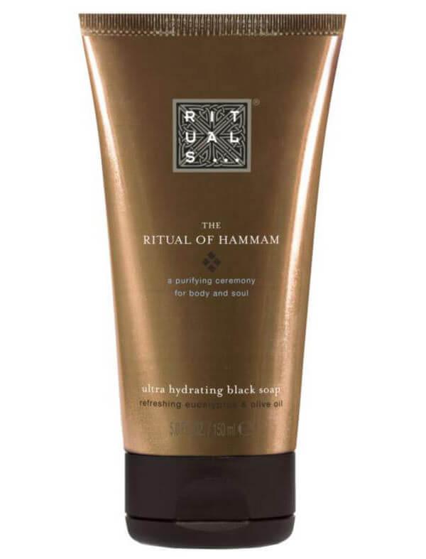 Rituals The Ritual of Hammam Black Soap (150ml) i gruppen Kroppsvård / Handvård & fotvård / Handtvål hos Bangerhead (B025774)
