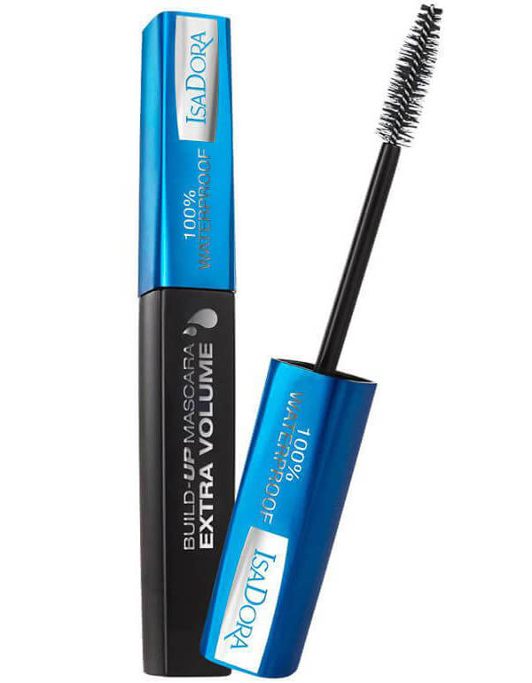 Isadora Build-Up Mascara Ev Waterproof - Black i gruppen Smink / Ögon / Mascara hos Bangerhead (B025796)