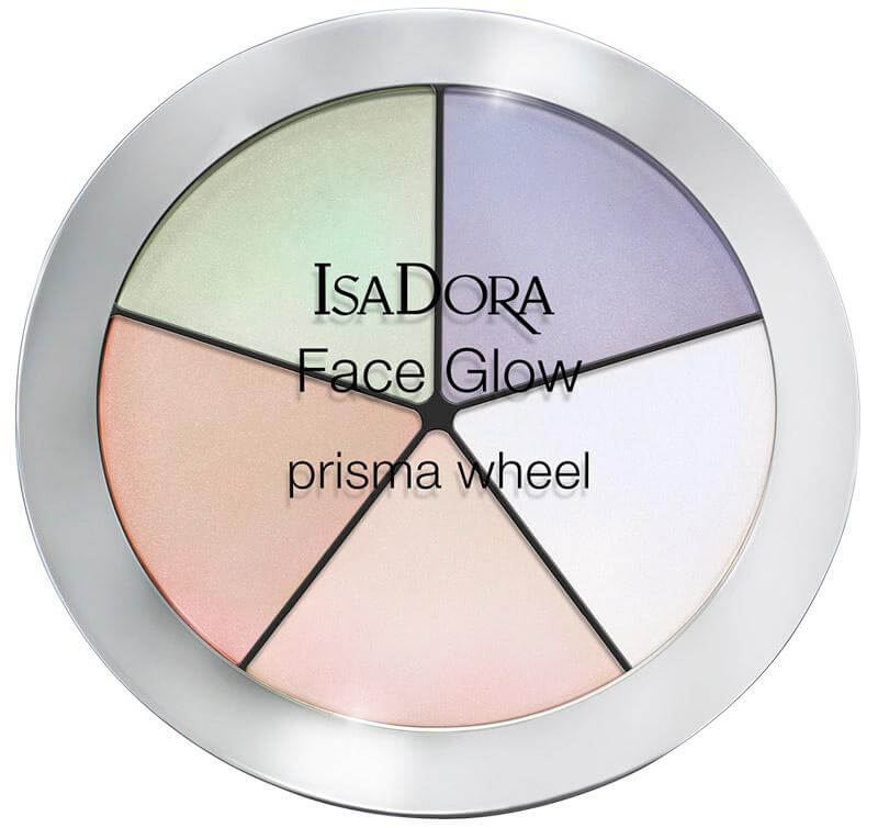 Isadora Face Glow Rainbow Highlights ryhmässä Meikit / Poskipäät / Korostustuotteet at Bangerhead.fi (B025803)
