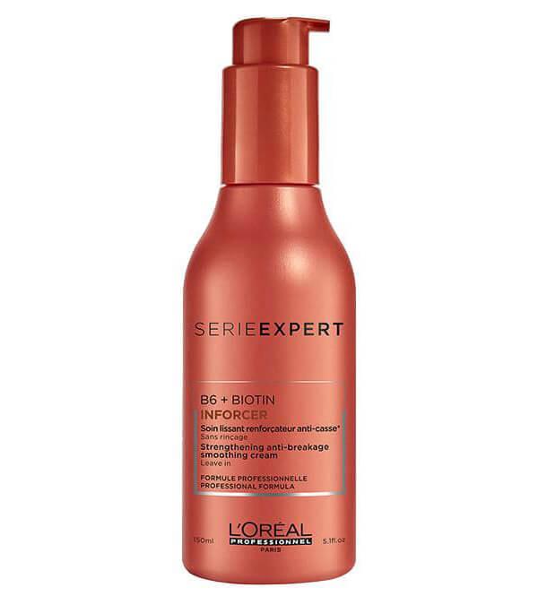 L'Oréal Professionnel Inforcer Smoothing Cream Leave-In (150ml) ryhmässä Hiustenhoito / Hiusnaamiot ja hoitotuotteet / Naamiot at Bangerhead.fi (B025868)