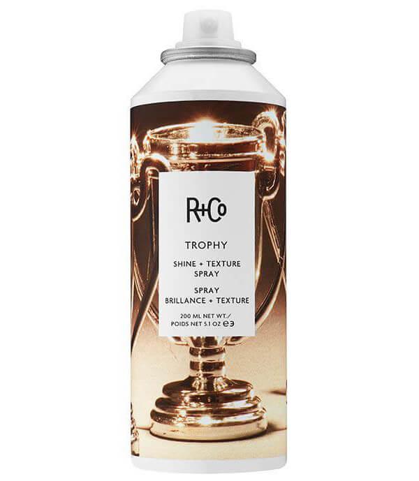 R+Co Trophy Shine+Texture Spray (200ml) ryhmässä Hiustenhoito / Muotoilutuotteet / Hiuslakat at Bangerhead.fi (B025875)
