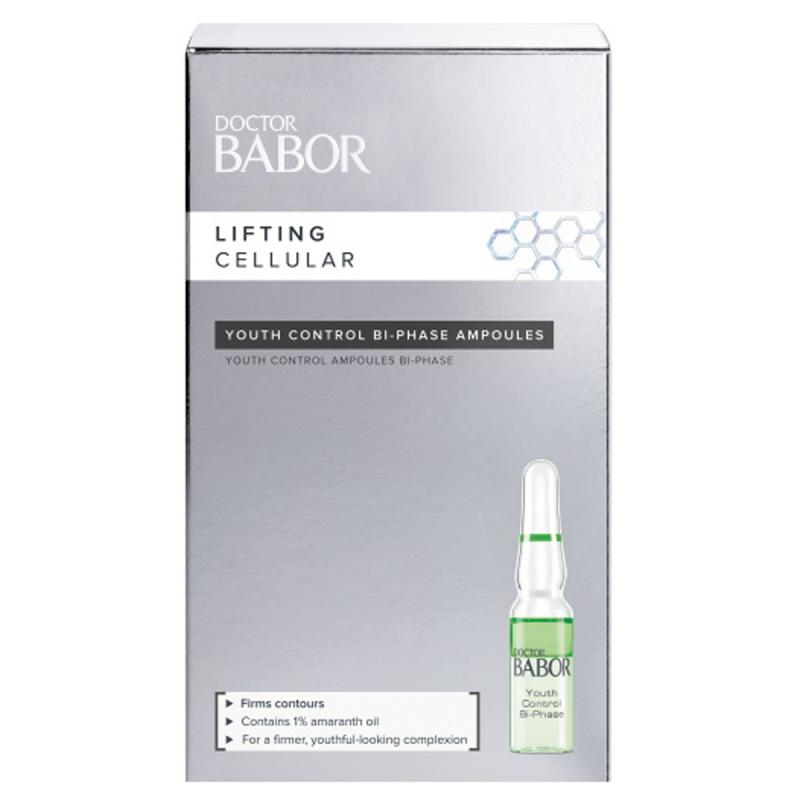 Babor Doctor Babor Youth Control Bi-Phase Ampoule (7X1ml) ryhmässä Ihonhoito / Kasvoseerumit & öljyt / Ampullit at Bangerhead.fi (B025901)