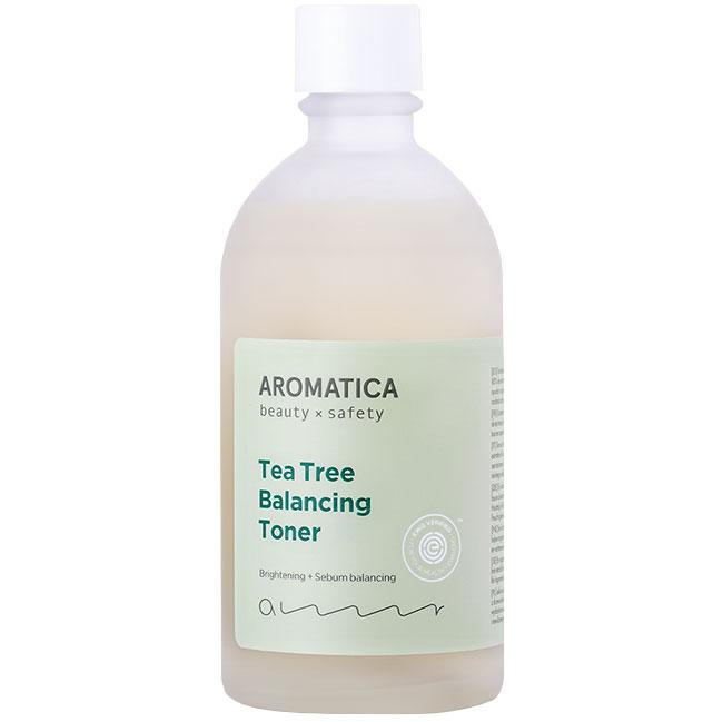 Aromatica Tea Tree Balancing Toner (130ml) ryhmässä Ihonhoito / Suihkeet & kasvovedet  / Kasvovedet at Bangerhead.fi (B025977)
