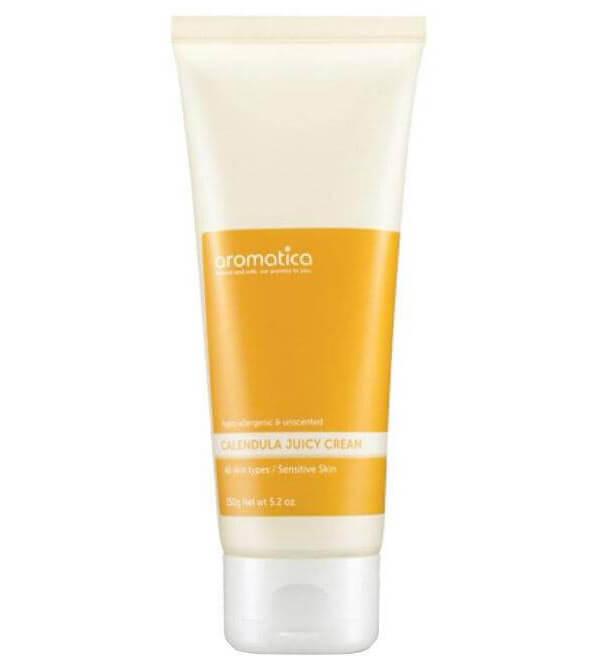 Aromatica Calendula Juicy Cream (150g) i gruppen Hudvård / Ansiktskräm / Dagkräm hos Bangerhead (B025980)