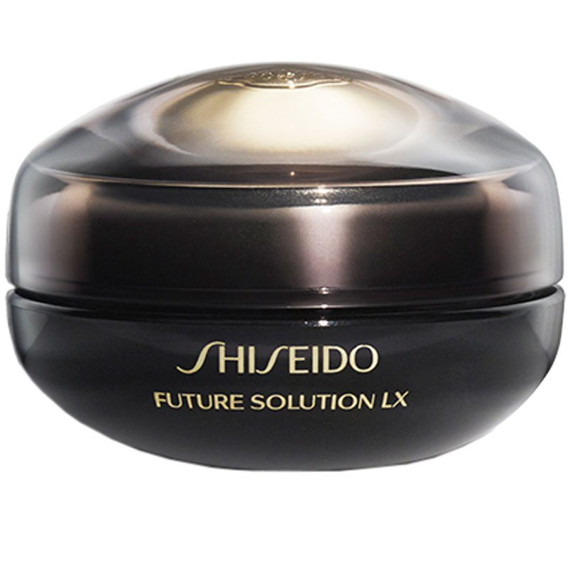 Shiseido Future Solution Lx Eye And Lip Cream (15ml) ryhmässä Ihonhoito / Silmät / Silmänympärysvoiteet at Bangerhead.fi (B026033)