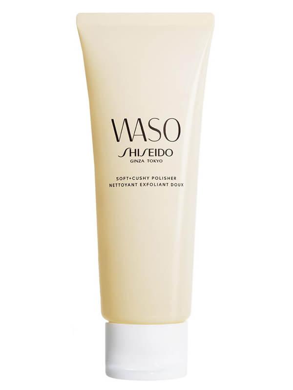 Shiseido Waso Soft / Cushy Polisher (75ml) ryhmässä Ihonhoito / Naamiot & hoitotiivisteet / Kasvojen kuorinta at Bangerhead.fi (B026044)