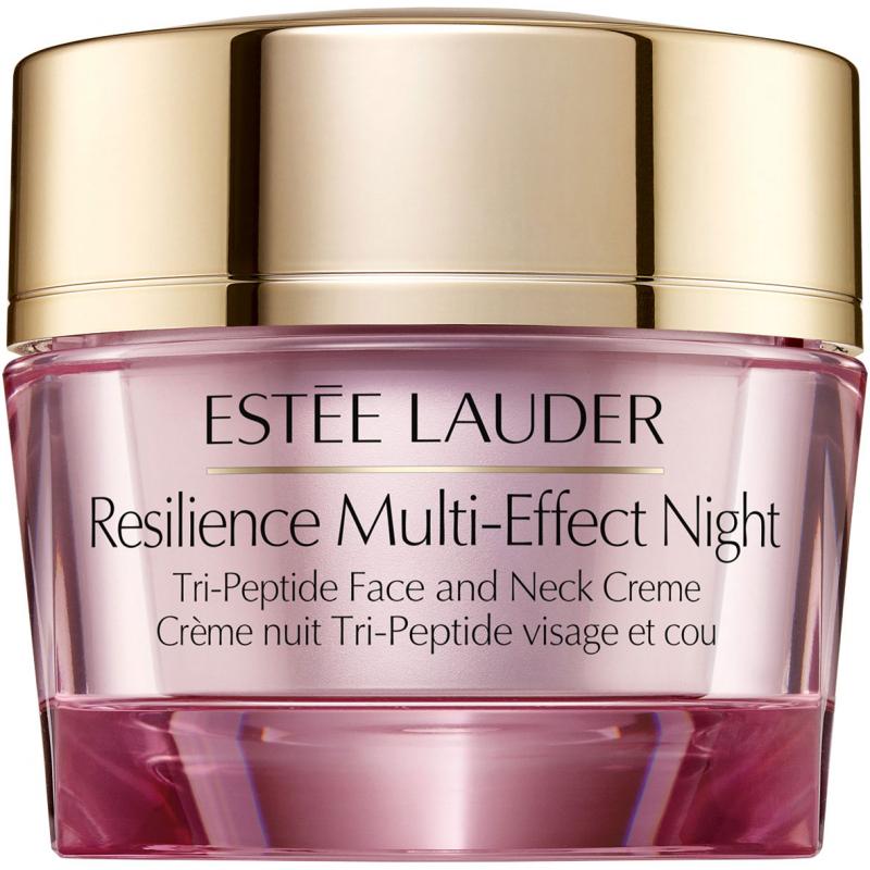 Estée Lauder Resilience Lift Night Lifting/Firming Face & Neck Creme (50ml) ryhmässä Ihonhoito / Kosteusvoiteet / Kaula ja dekoltee at Bangerhead.fi (B026120)