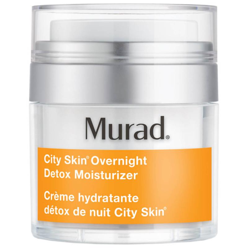 Murad City Skin Overnight Detox Moisturizer (50ml) i gruppen Hudpleie / Fuktighetskrem / Nattkrem hos Bangerhead.no (B026230)