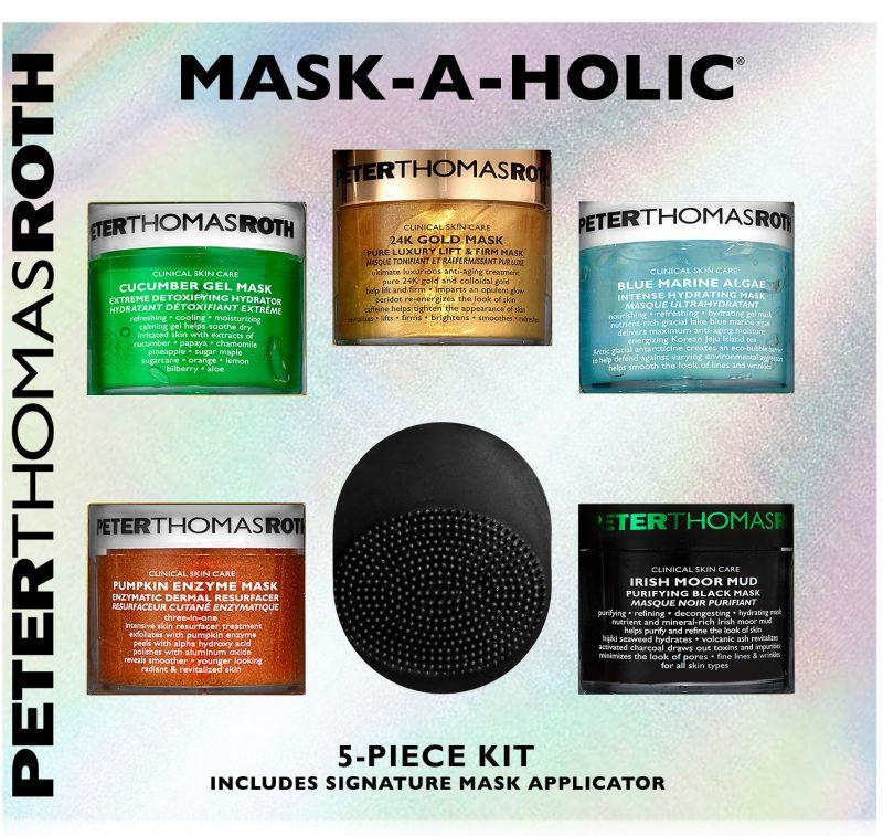 Peter Thomas Roth Mask-A-Holic 5 Pc Set (250ml) ryhmässä Ihonhoito / Lahjapakkaukset & setit / Lahjapakkaukset at Bangerhead.fi (B026405)