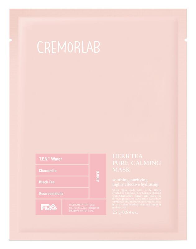 Cremorlab Herb Tea Pure Calming Mask i gruppen Hudpleie / Ansiktsmaske / Sheet masks hos Bangerhead.no (B026497r)