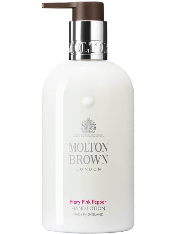 Molton Brown Pink Pepper Hand Lotion (300ml) ryhmässä Vartalonhoito & spa / Kädet & jalat / Käsivoiteet at Bangerhead.fi (B027051)