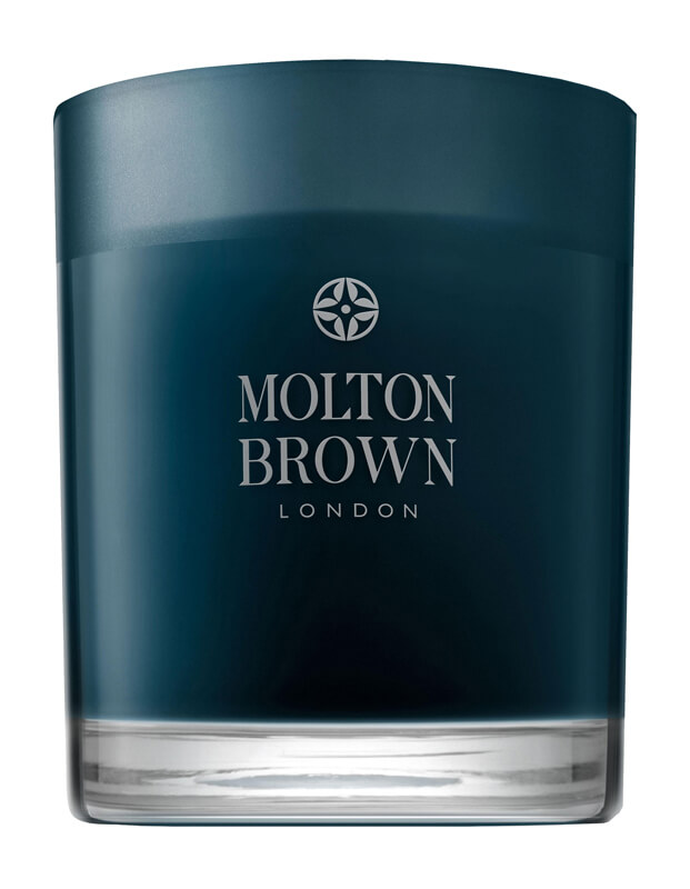 Molton Brown Russian Leather Single Wick Candle i gruppen Parfume & duft / Duftlys & duftpinde / Duftlys hos Bangerhead.dk (B027054)
