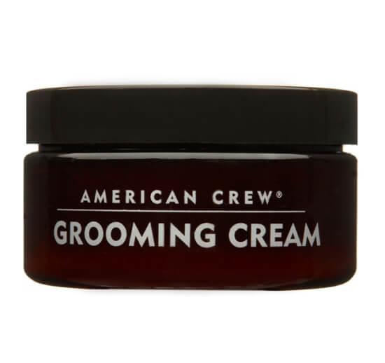 American Crew Grooming Cream (85g) ryhmässä Hiustenhoito / Muotoilutuotteet / Hiusvahat & muotoiluvoiteet at Bangerhead.fi (B027072)