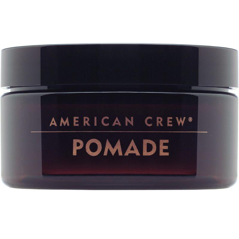 American Crew Pomade (85g) ryhmässä Hiustenhoito / Muotoilutuotteet / Geelit at Bangerhead.fi (B027076)