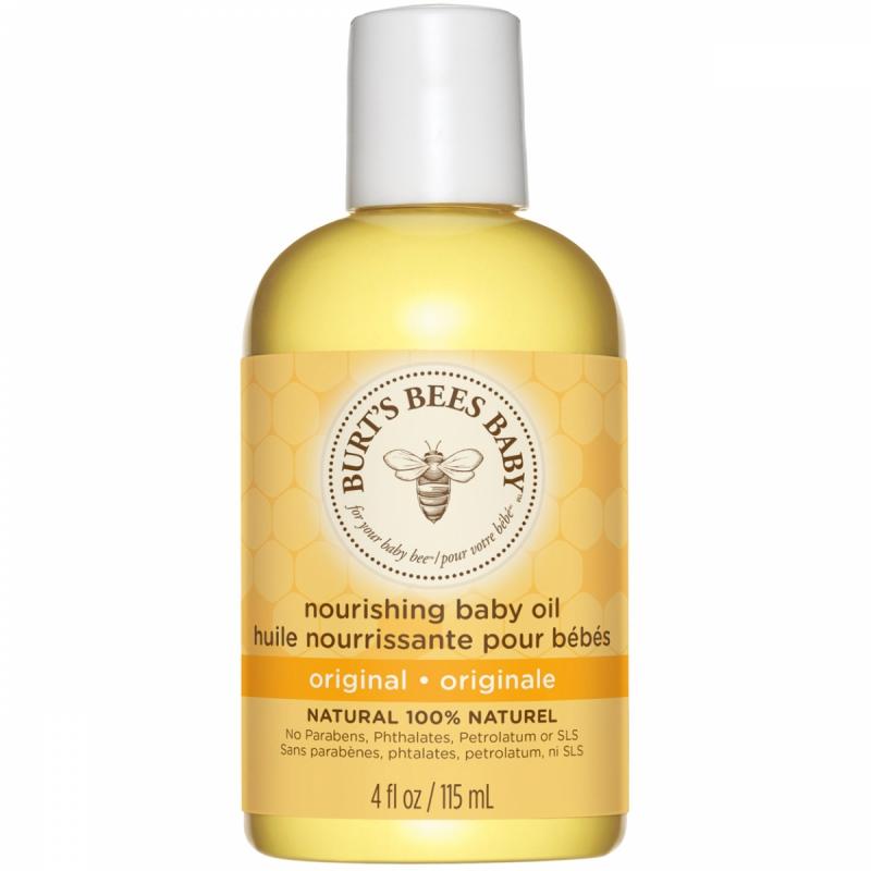 Burt's Bees Baby Bee Nourishing Body Oil (115ml) i gruppen Hudvård / Ekologisk hudvård hos Bangerhead (B027242)