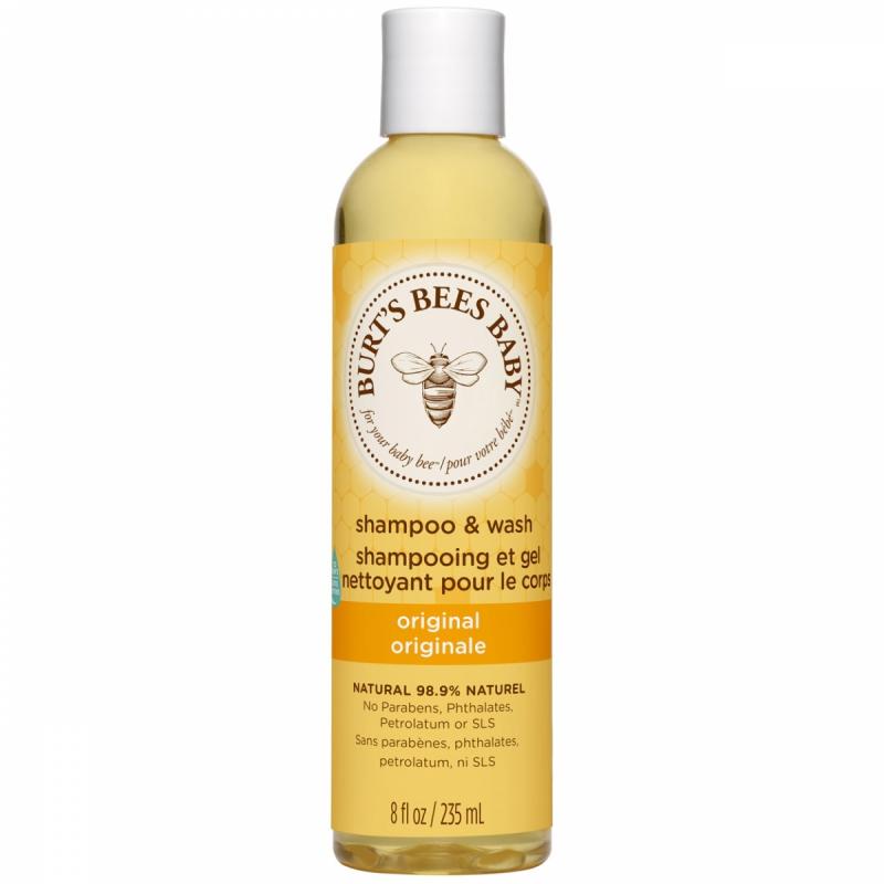 Burt's Bees Baby Bee Shampoo & Body Wash (235ml) ryhmässä Hiustenhoito / Shampoot & hoitoaineet / Shampoot at Bangerhead.fi (B027244)
