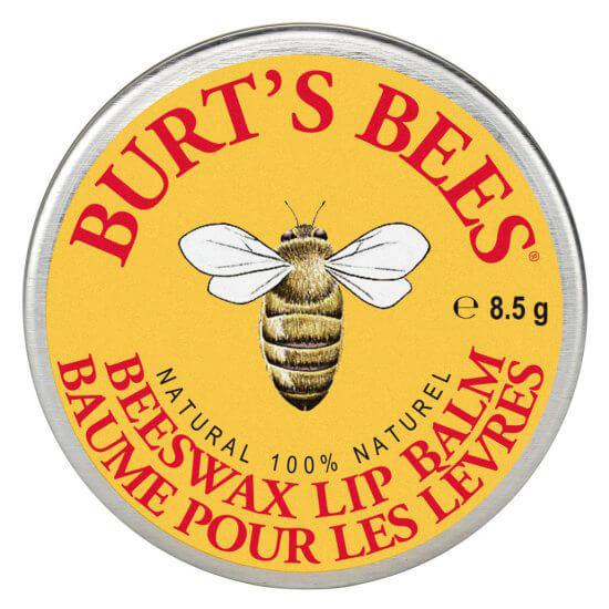 Burt's Bees Lip Balm Beeswax Tin ryhmässä Ihonhoito / Huulet / Huulivoiteet at Bangerhead.fi (B027255)