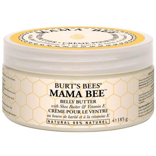 Burt's Bees Mama Bee Belly Butter (185g) i gruppen Kroppsvård / Kroppsåterfuktning / Body butter hos Bangerhead (B027263)
