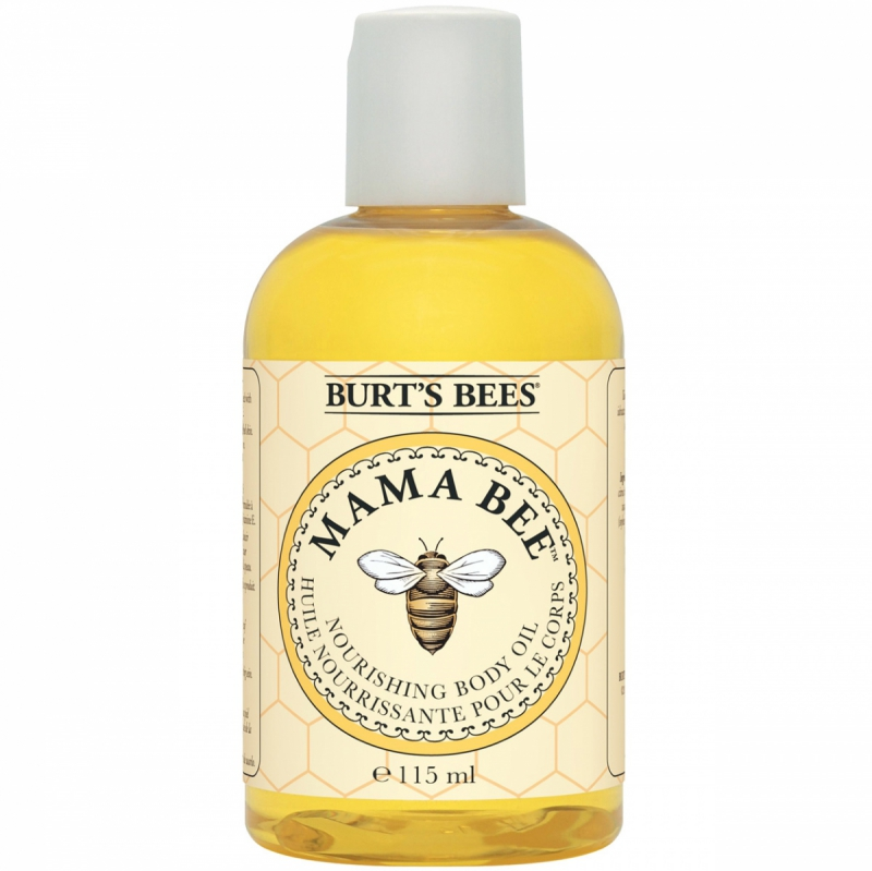 Burt's Bees Mama Bee Apricot Body Oil (115ml) i gruppen Kroppsvård & spa / Kroppsåterfuktning / Kroppsolja hos Bangerhead (B027264)